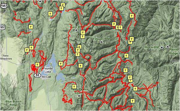 McCall Overview Map